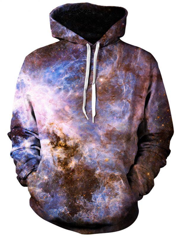 interstellar connection art pullover front - Galaxy Hoodie
