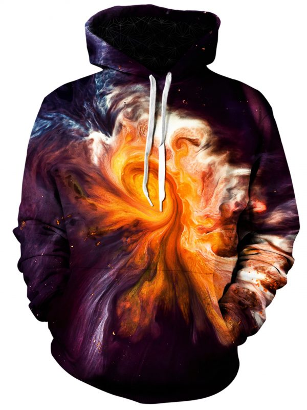 merge art pullover front - Galaxy Hoodie