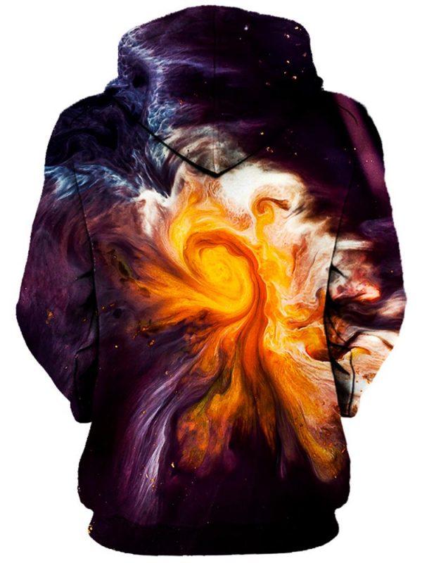 merge pullover womensback - Galaxy Hoodie