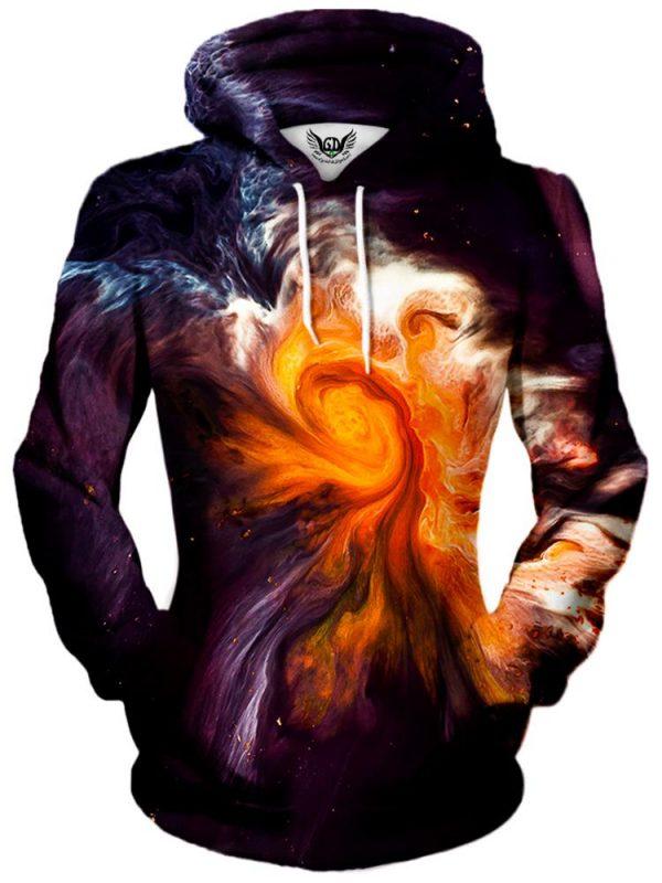 merge pullover womensfront - Galaxy Hoodie