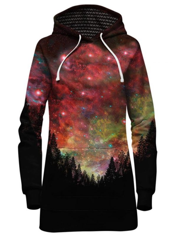 rasta woods hoodiedress front 6fc1ae91 312a 49d0 b1b1 ab53b6239823 - Galaxy Hoodie