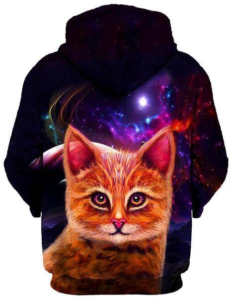 space cat pullover back 1024x1024 grande 67398385 9441 47cd a9f0 2d7efd54d589 - Galaxy Hoodie