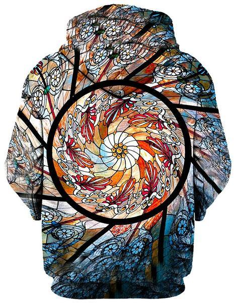 stained glass pullover back grande f968ebe0 83a0 423c a3b4 aa67bfa2cf35 - Galaxy Hoodie