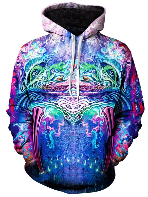 symetricity art extended pullover front - Galaxy Hoodie