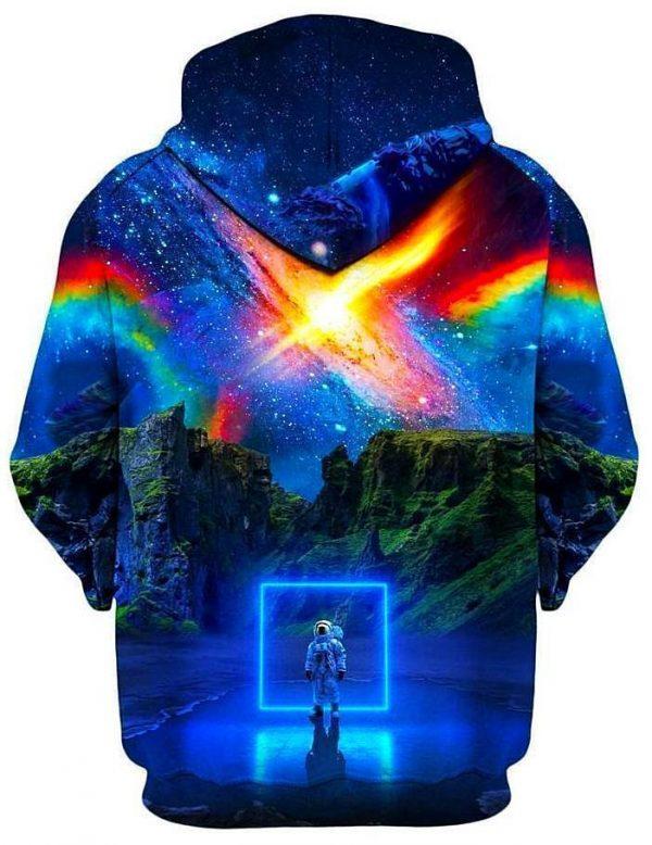 think lumi cosmic toybox kid s hoodie B - Galaxy Hoodie