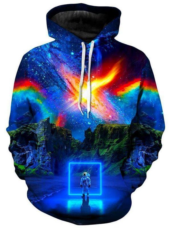 think lumi cosmic toybox kid s hoodie F - Galaxy Hoodie