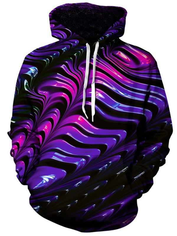 wavvy art pullover front - Galaxy Hoodie